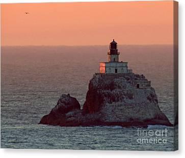 Tillamook Rock Lighthouse Canvas Print by Chris Anderson