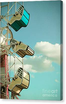 Tilt And Twirl Canvas Print by Colleen Kammerer