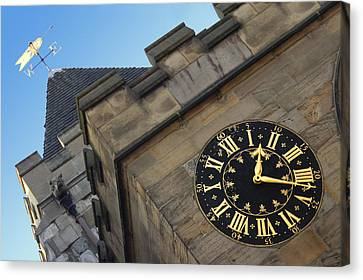 Time And Direction Canvas Print by Mike McGlothlen