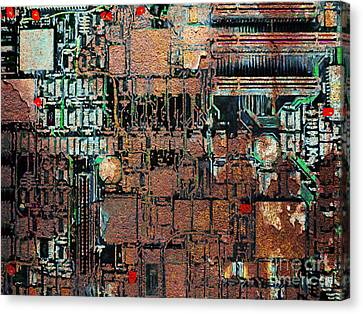 Time For A Motherboard Upgrade 20130716 Canvas Print by Wingsdomain Art and Photography
