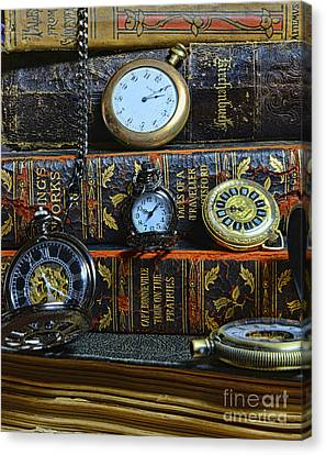 Time For Reading Canvas Print by Paul Ward