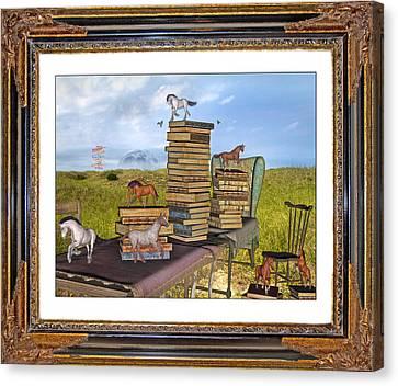 Time Frame Canvas Print by Betsy Knapp