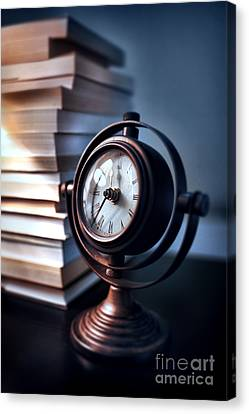 Time Canvas Print by HD Connelly