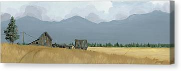 Time Long Past Canvas Print by John Wyckoff