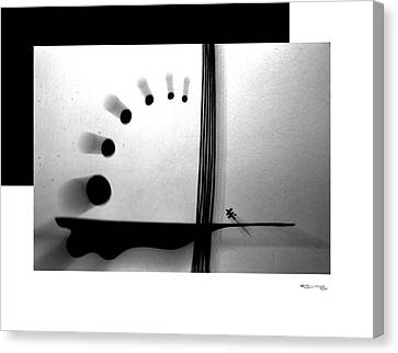Time On A String Canvas Print by Xoanxo Cespon