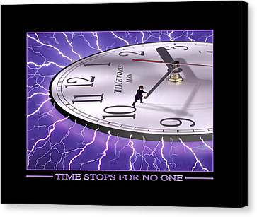 Time Stops For No One Canvas Print by Mike McGlothlen