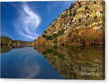 Time To Reflect On Life Canvas Print by English Landscapes