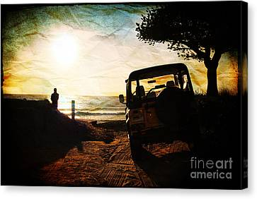 Time To Think Canvas Print by Sabine Jacobs