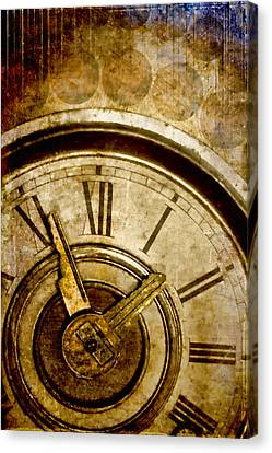 Time Travel Canvas Print by Carol Leigh