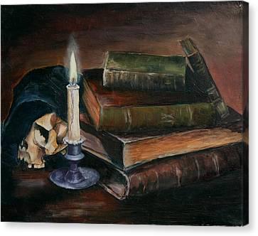 Time Canvas Print by Vita Schagen
