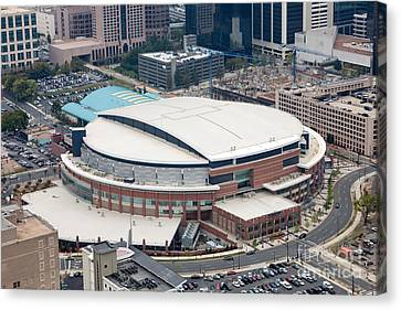 Time Warner Cable Arena Canvas Print by Bill Cobb