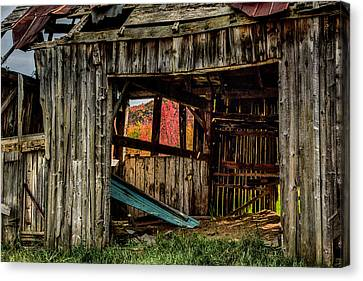Time Wears Down All Things Canvas Print by Jeff Folger