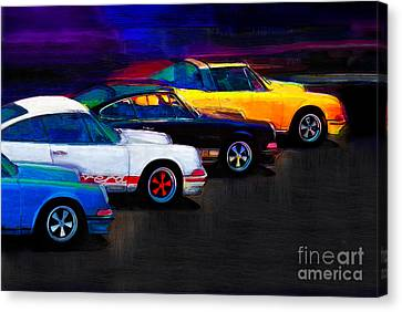 Timeless Classics Canvas Print by Alan Greene