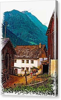Timeless Vignette Version Canvas Print by Steve Harrington