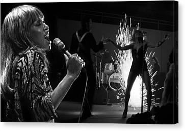 Tina Turner  Canvas Print by Dragan Kudjerski