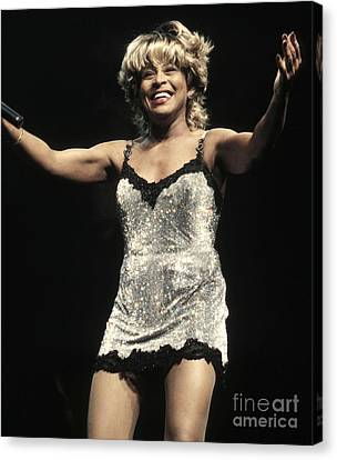Tina Turner Canvas Print by Front Row  Photographs