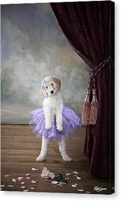 Tiny Dancer Canvas Print by Lisa Jane