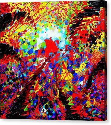 To Make Visible The Invisible V Canvas Print by John  Nolan