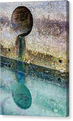 To The Ocean Canvas Print by Heidi Smith