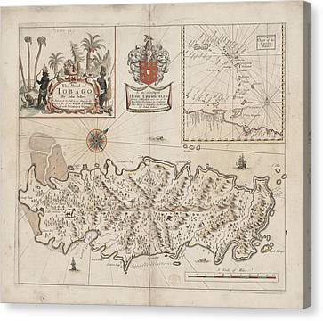 Tobago Canvas Print by British Library