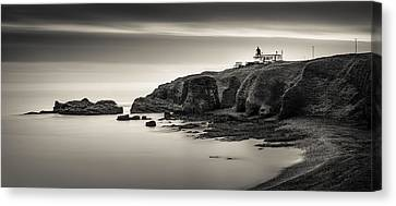 Tod Head Lighthouse Canvas Print by Dave Bowman