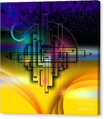 Together In The Sky Canvas Print by Franziskus Pfleghart