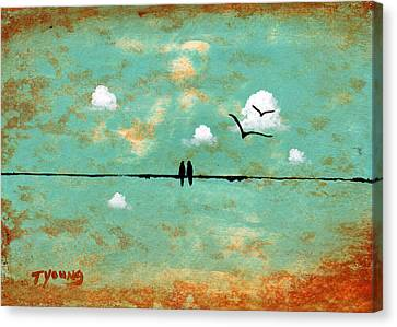 Together Canvas Print by Todd Young