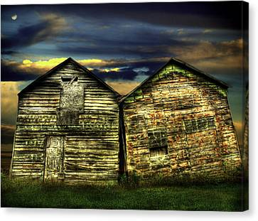 Together Until The End Canvas Print by Thomas Young