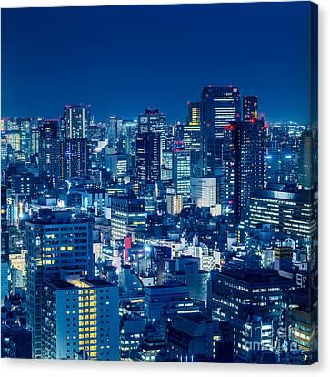 Tokyo 19 Canvas Print by Tom Uhlenberg