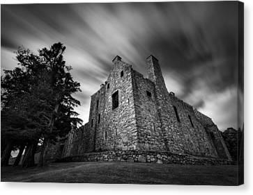 Tolquhon Castle Canvas Print by Dave Bowman