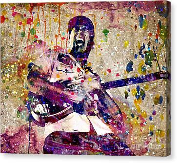 Tom Morello Original Canvas Print by Ryan Rock Artist
