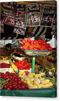 Tomate Canvas Print by Art Ferrier