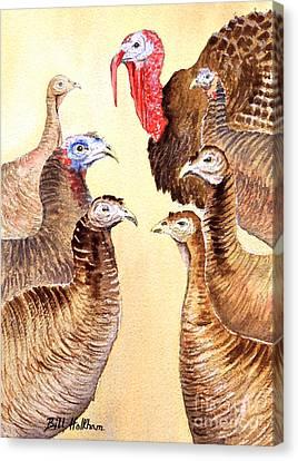 Tom's Parade Canvas Print by Bill Holkham