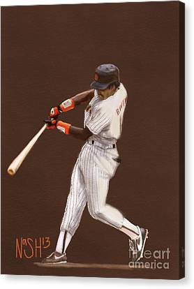 Tony Gwynn Canvas Print by Jeremy Nash