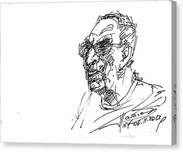 Tony Canvas Print by Ylli Haruni