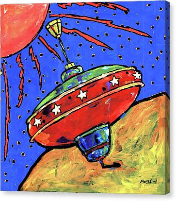 Top In Space Canvas Print by Dale Moses