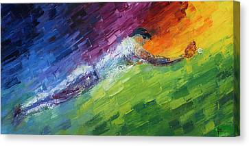 Top Ten Play Of The Day Canvas Print by Ash Hussein