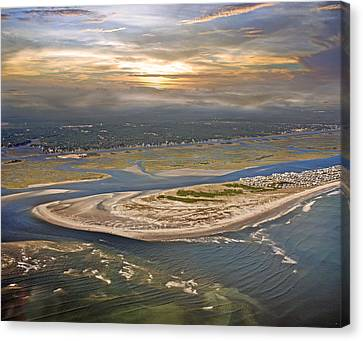 Topsail Island Paradise Canvas Print by Betsy Knapp