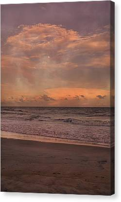Topsail Island Perfect Evening Canvas Print by Betsy C Knapp
