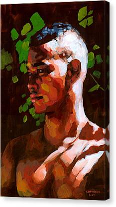 Torano In The Afternoon Canvas Print by Douglas Simonson