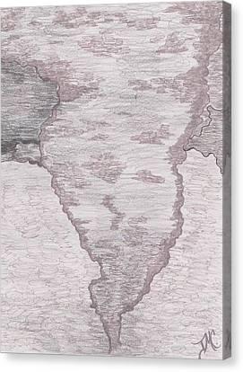 Tornado Canvas Print by Jill Christensen