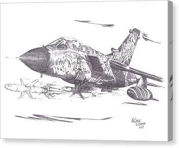 Tornado Monster Canvas Print by Gavin Snowdon
