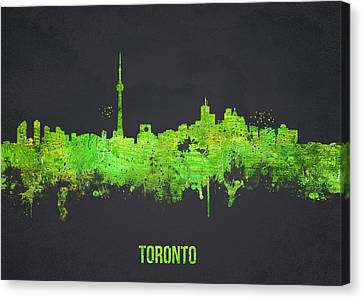Toronto Canada Canvas Print by Aged Pixel