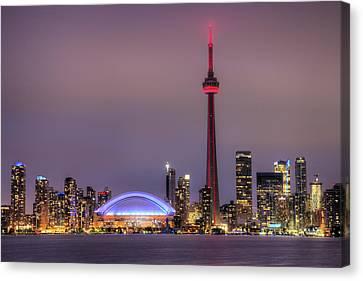Toronto Skyline Canvas Print by Shawn Everhart