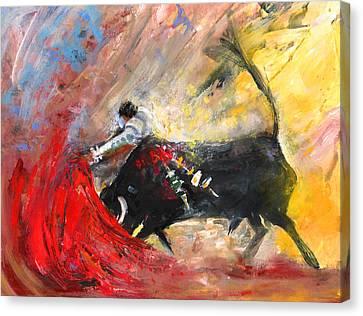 Toroscape 46 Canvas Print by Miki De Goodaboom