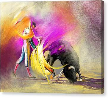 Toroscape 52 Bis Canvas Print by Miki De Goodaboom