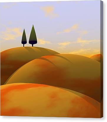 Toscana 1 Canvas Print by Cynthia Decker