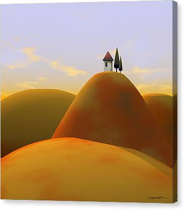 Toscana 2 Canvas Print by Cynthia Decker