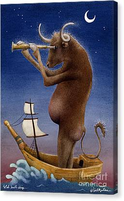 Total Bull Ship... Canvas Print by Will Bullas