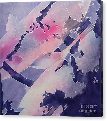 Touch Canvas Print by Robert Hooper